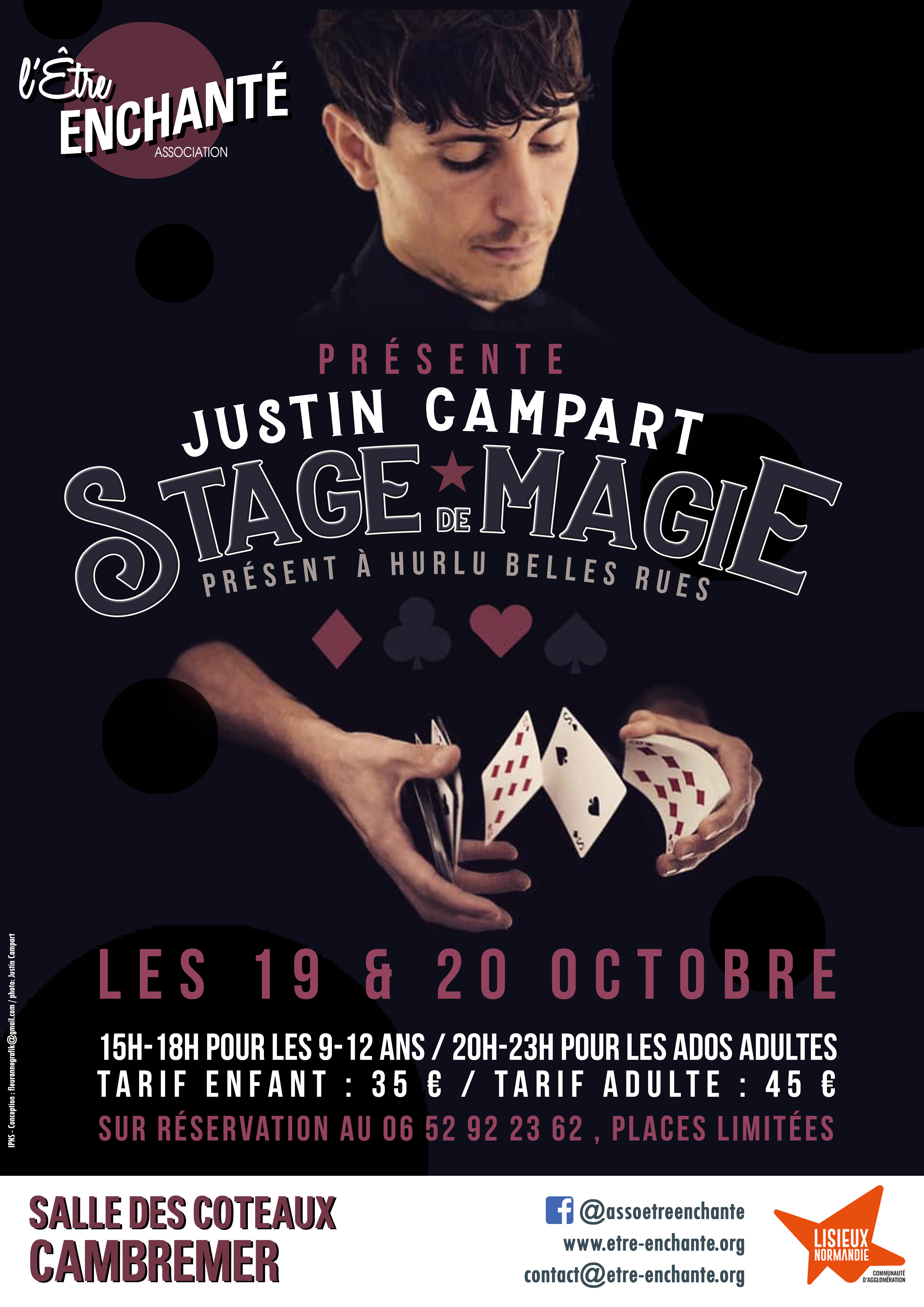 STAGE MAGIE 19-20 octobre